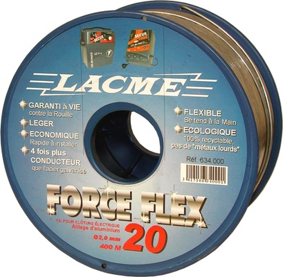 FORCEFLEX Aluminio 2, 0mm 400m.
